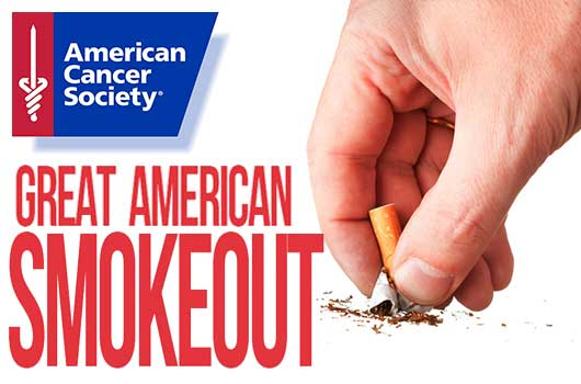 Great American Smokeout November 2017